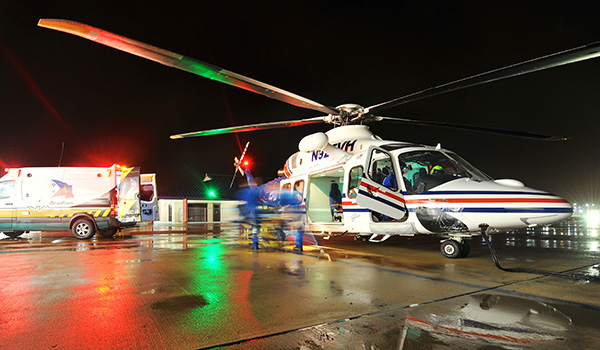 SARS/HEMS Operations Begin