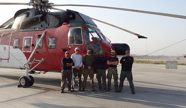Afghan Operations Begin